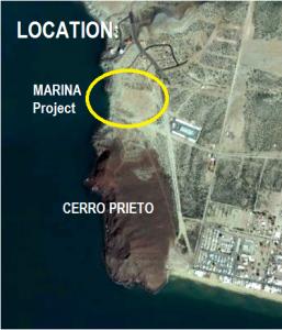 Bahia Kino - Marina - Localización